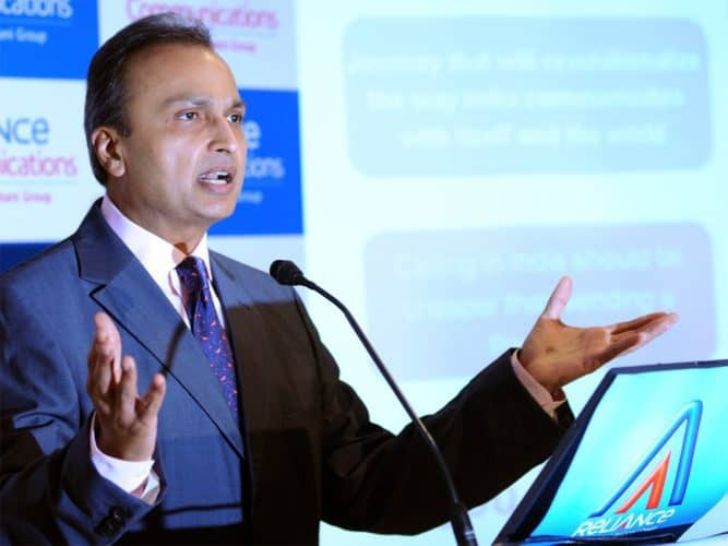 RCom-Ericson Case: Reliance Com Files For Bankruptcy