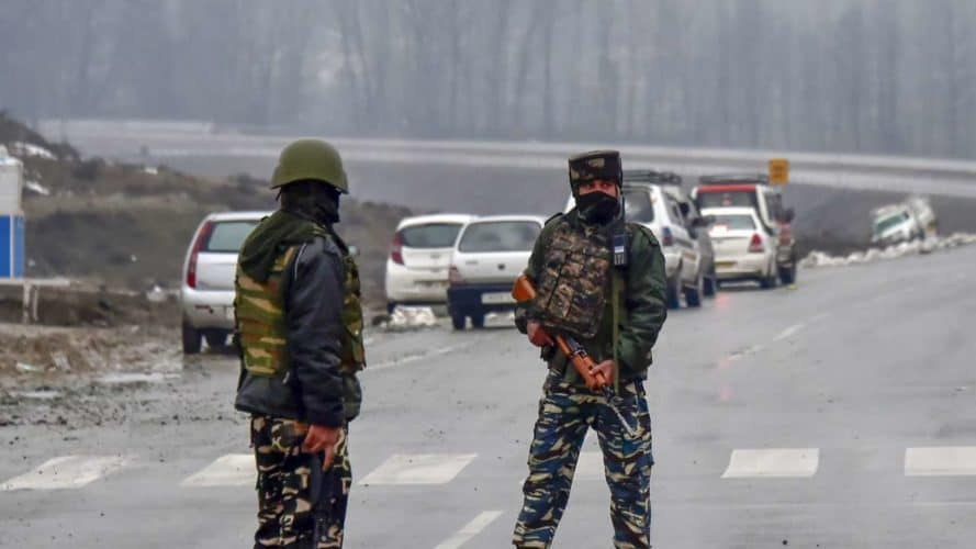 Biggest Attack In Decades: 44 killed as CRPF convoy is targeted in Pulwama,J&K; Rajnath assures 'strong reply'