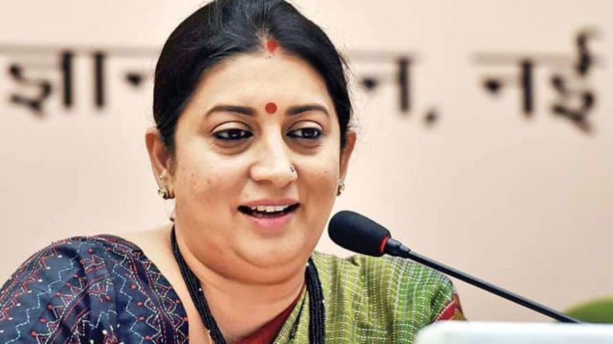 Congress Alleges That Smriti Irani Misused MPLAD Funds