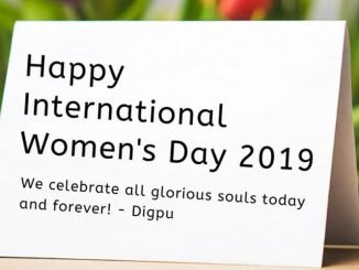 Happy International Women's Day 2019 - Congratulations From Digpu