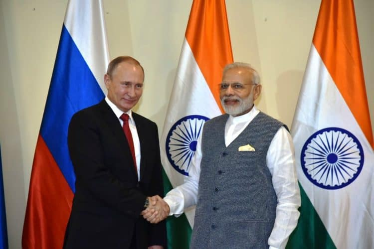 India and Russia sign a deal for 7,50,000 units of AK-203, latest derivative of the legendary AK-47 rifle