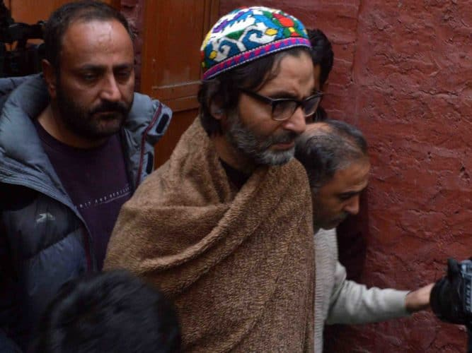 JKLF Separatist Leader Yasin Malik Booked Under Public Safety Act; Shifted To Jammu Jail