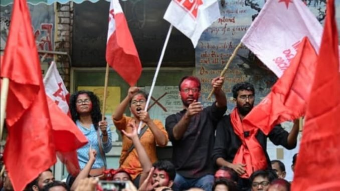 JNU Students On Indefinite Hunger Strike Against Expensive MBA Course