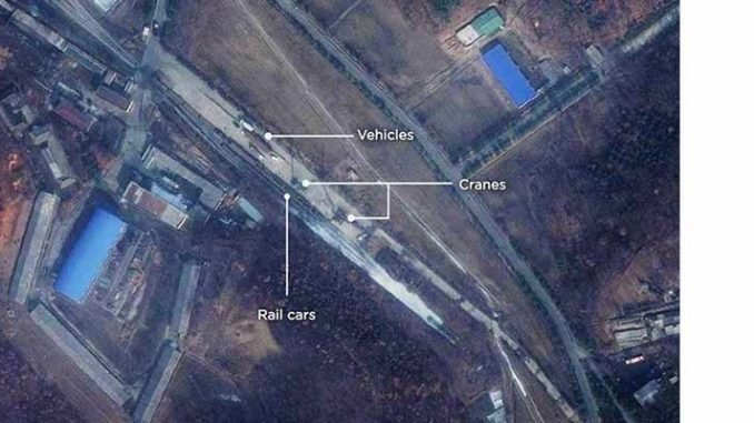 Sattelite Images Suggest North Korea Is Preparing Rocket Launch