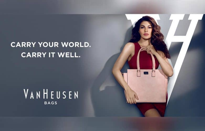 Van Heusen Unveils Jacqueline Fernandez as the Face for VH Women's Handbags Segment