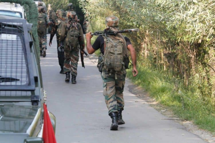 Encounter And Hardcore Search Operation Underway In Tral