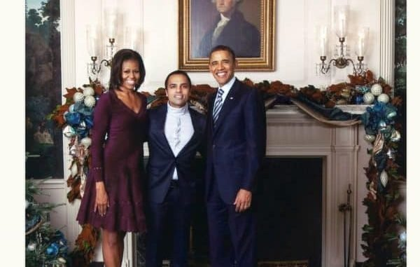 Gurbaksh Chahal With Barack Obama and Michelle Obama - Digpu