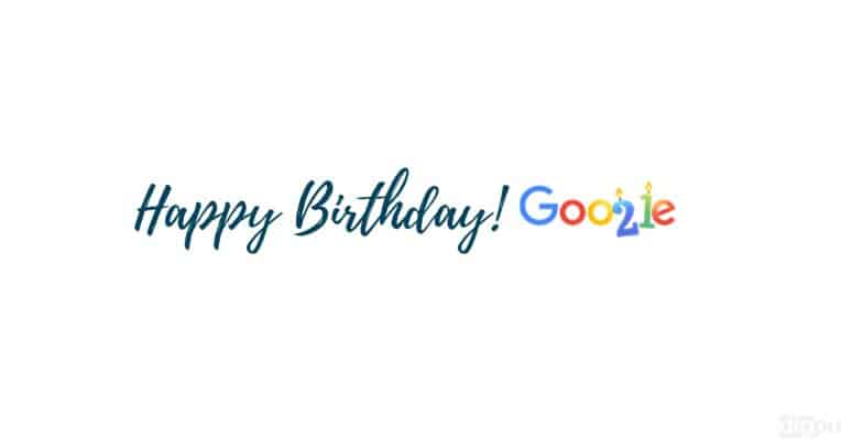 Happy Birthday Google - Digpu News
