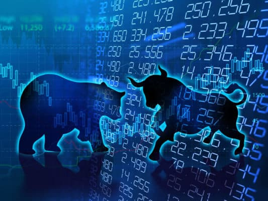 Equities trade higher led by PSU bank and realty stocks