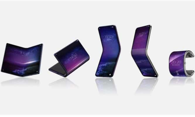 TCL teases Samsung Galaxy Fold rival with a three-fold design