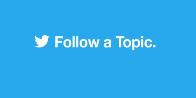 Twitter introduces Topics to easily follow your interests