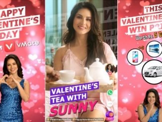 Check out Sunny Leone serving tea on VMate