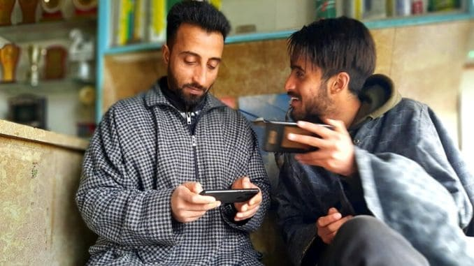 Youth ecstatic as social media curbs lifted in J&K