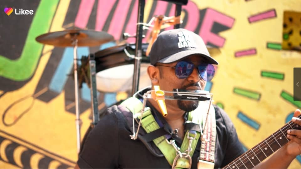 Battling against odds of life, India's one-man band and Likeer Gladson Peter is an inspiration for many