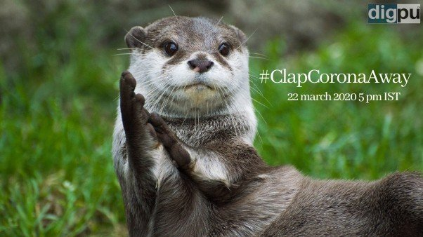 #ClapCoronaAway - Cheer For Our Heroes - Digpu