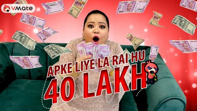 Comedy queen Bharti Singh comes up with series of challenges on VMate to keep all engaged during lockdown