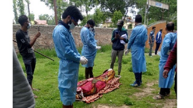 Communal Harmony: Muslims cremate Sikh man with honour in Kashmir