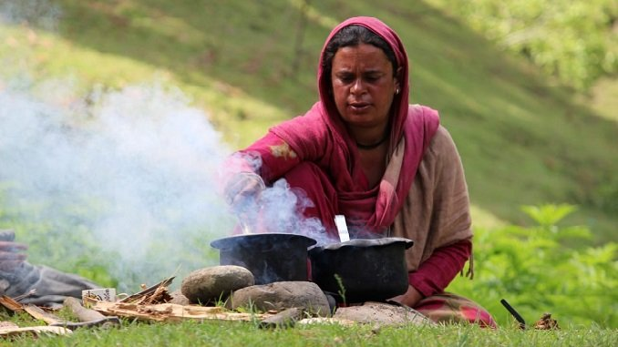 In Pictures: Amid lockdown, nomads continue with their normal life in Valley
