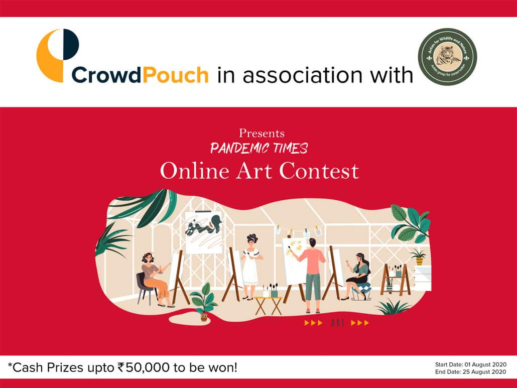 Online Art Contest 'Pandemic Times' with Cash Prizes over ₹ 50,000 and more