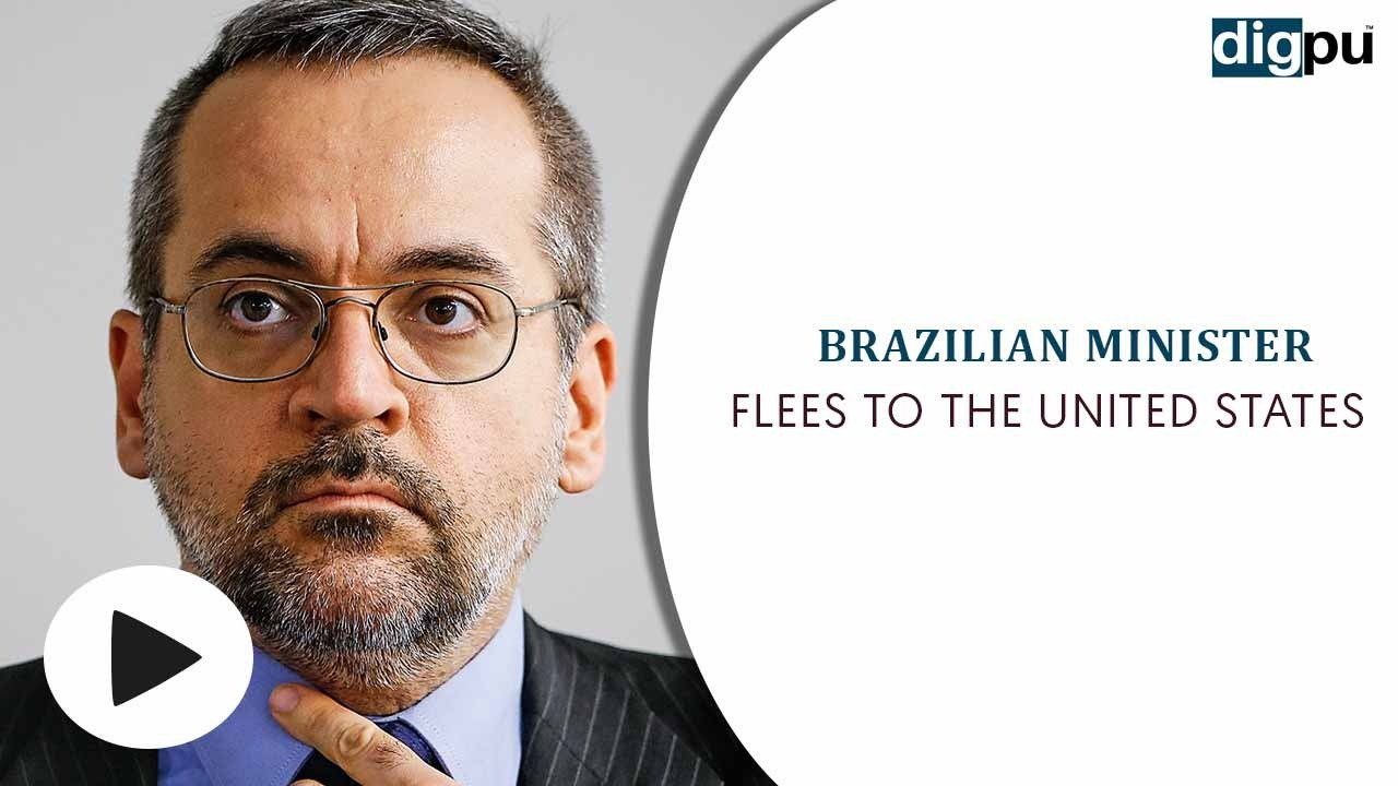 Brazilian Education Minister Abraham Weintraub fled to the United States after being fired - Digpu News