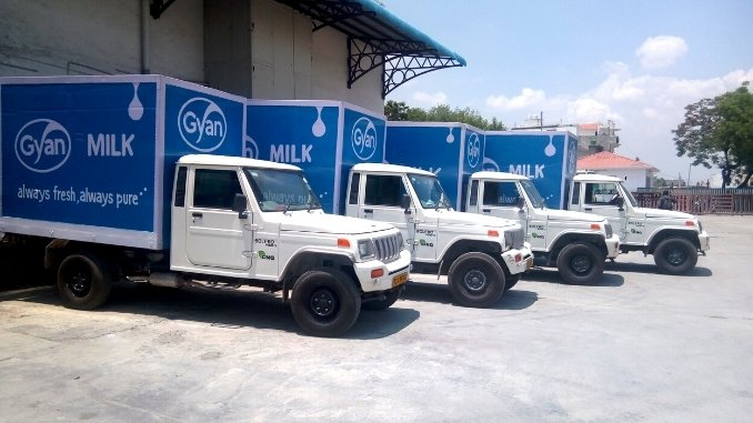 Gyan Dairy, the most preferred fresh milk and dairy products brand in UP - Digpu News