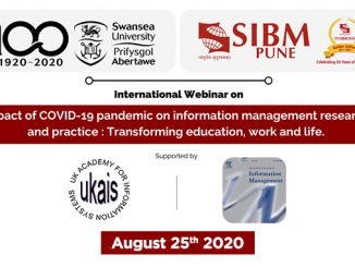 Impact of COVID-19 pandemic on information management research and practice - SIBM Pune - Digpu News