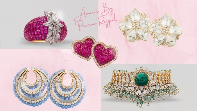 Celebrated jewellery designer, AMARIS By Prerna Rajpal forays into the digital realm with the launch of her online store - Digpu News