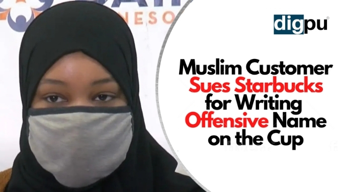 ISIS On A Coffee - Muslim Customer Sues Starbucks For Writing Aisha as ISIS - Digpu Video Bytes
