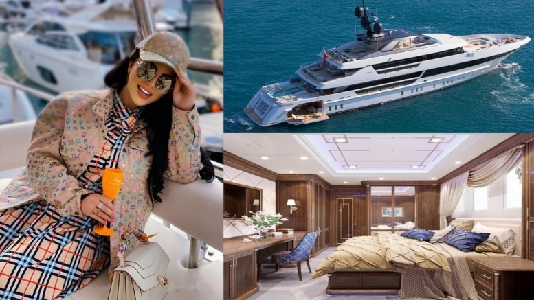 The most Luxurious Yacht in the world designed by Katrina Antonovich