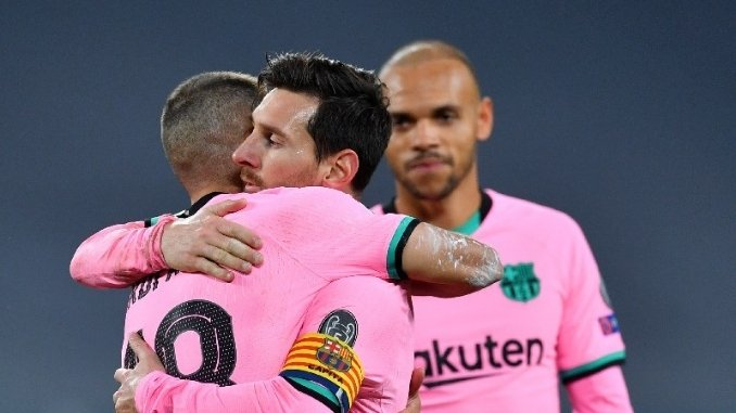 Barcelona beats Juventus in Champions League