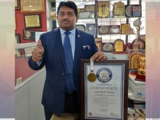 The Lead India Foundation Receives World Book Of Record Certification - Digpu News