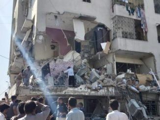 Karachi explosion: 3 killed, 15 injured on the second floor of a building