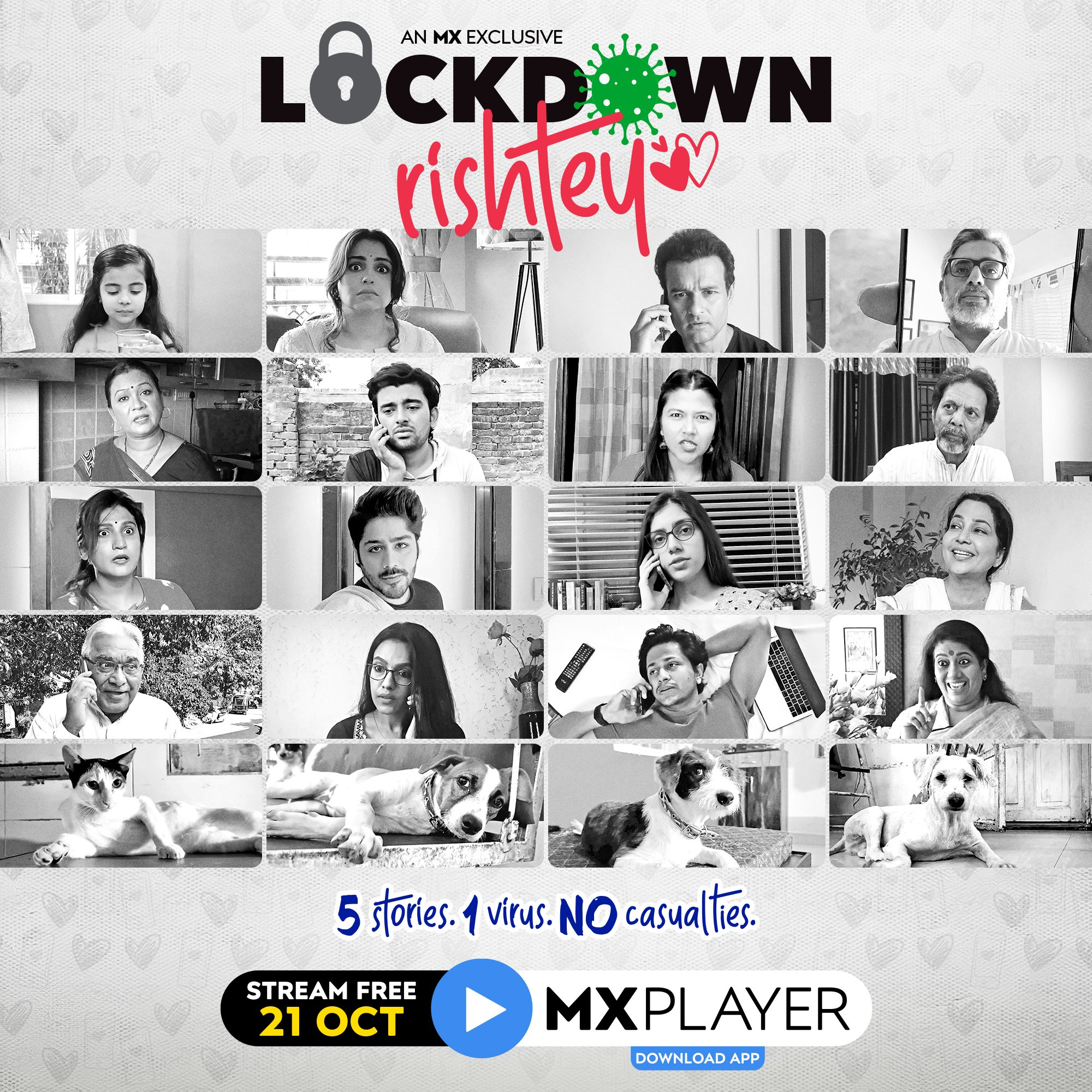 Watch how this lockdown reshaped relationships with MX Player's Lockdown Rishtey - Digpu News