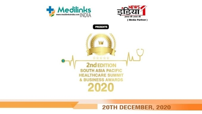 Much-awaited South Asia Pacific Healthcare Summit & Business Awards 2020 in December