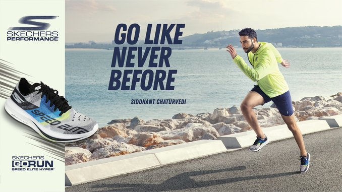 Skechers India launches 'Go Like Never Before' campaign with Siddhant Chaturvedi - Business News Digpu