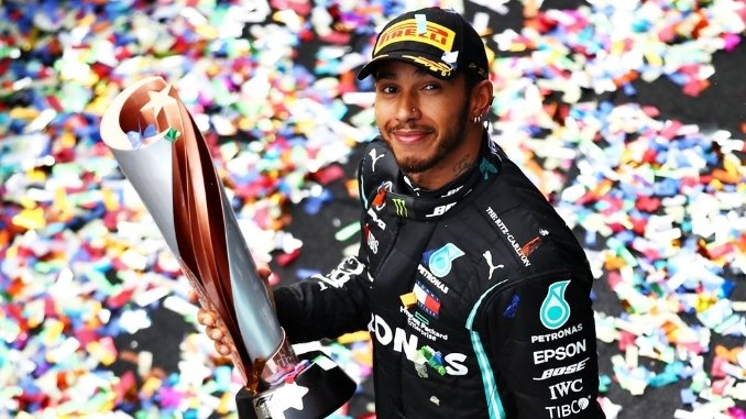 Hamilton Wins Seventh Formula 1 Championship, Makes Up to Schumacher's record