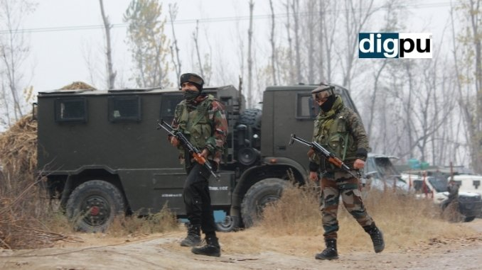 After brief firing, 'Lamboo Bhai' among militants escape gunfight site in Pulwama - Digpu News