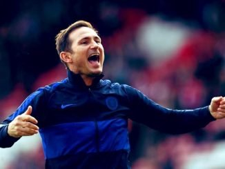 Frank Lampard says, we are improving but cannot get carried away