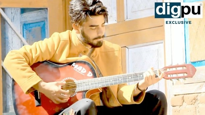 Dilawar Manzoor — Promising young singer from Pulwama - Digpu News