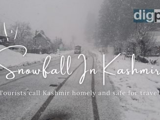 Snowfall In Kashmir Tourists call the Kashmir valley safe and homely - DilPaziir By Digpu News