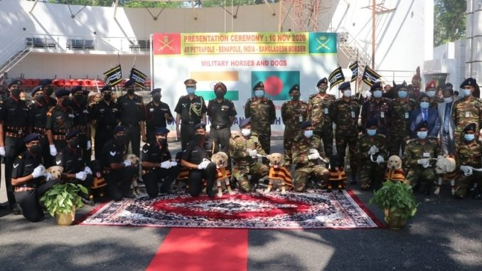 Bangladesh to receive 20 fully trained military horses, 10 mine detection dogs from India