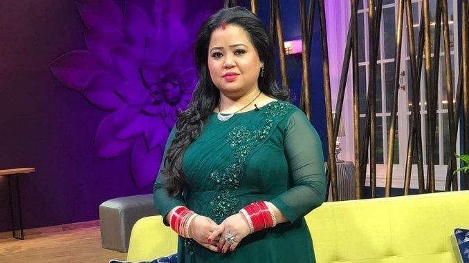 Comedian Bharti Singh being questioned by the Narcotics Control Bureau (NBC)