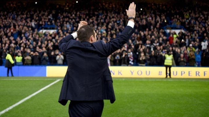 Frank Lampard excited to see the return of fans into stadiums