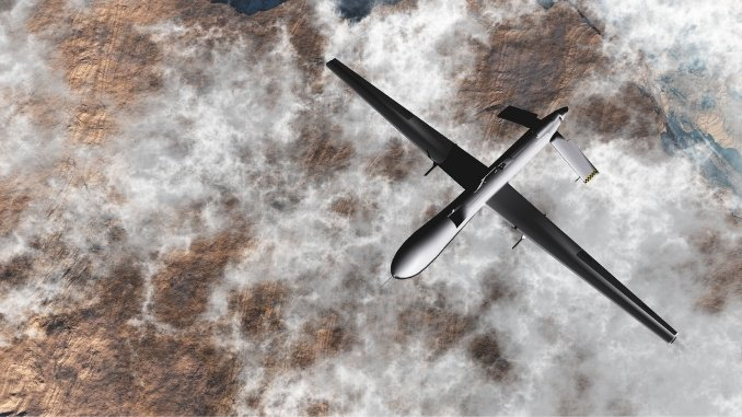 American Predator drones on the lease, can be deployed on China border