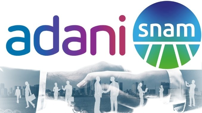 Adani Group joined hands with Italy-based Snam