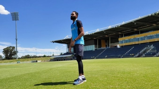 Siraj-My mother told me to stay back and fulfill my father's dream: Ind vs Aus