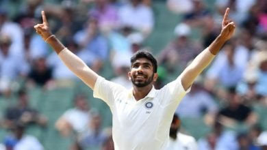 1st Test_ Bumrah strikes twice to put visitors on top - Digpu