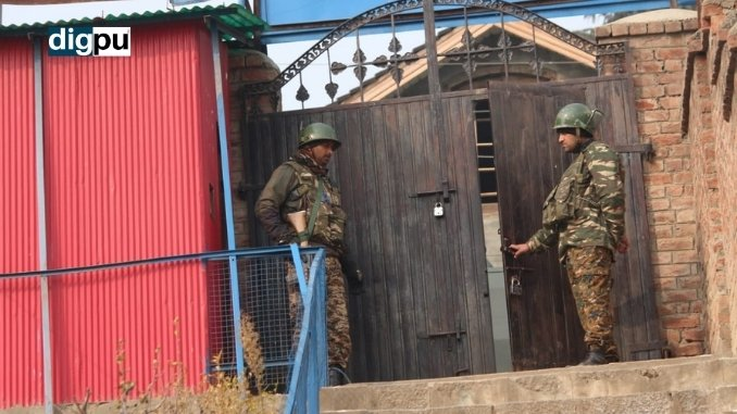 Security Forces Stand Guard During DDC Polls Phase 2 - Digpu News
