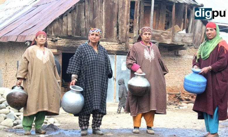A fortnight without drinking water for Draklaran villagers in Pulwama - Digpu News