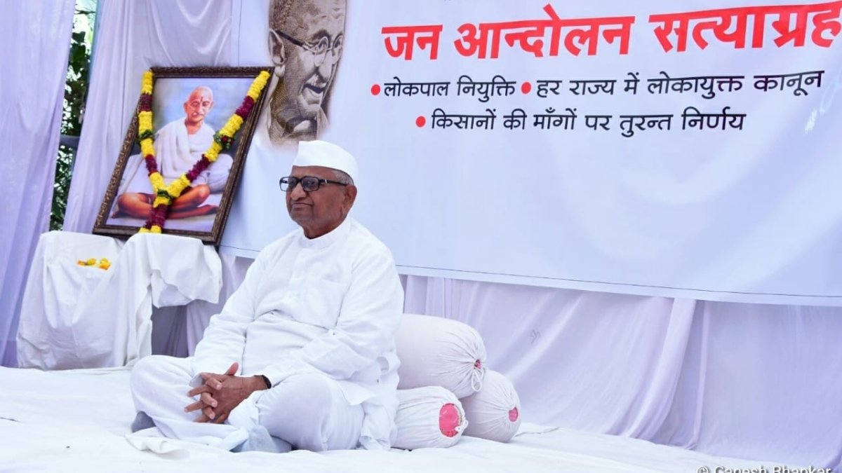 Anna Hazare to launch an agitation in support of farmers - Digpu
